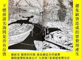二手書博民逛書店TOKYO罕見OLD TOWN - The exact sketch with a ballpoint pen[3