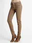 BOBSON 女款彩色強彈力緊身褲(8068-71)