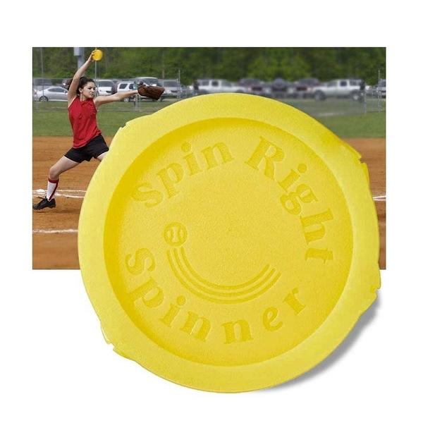 壘球訓練器 Spin Right Softball Spinner Fastpitch for Pitcher Overhand Thrower Training Aid Equipment [9美國直購]