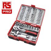 RS PRO 鉻釩鋼棘輪扳手55件組