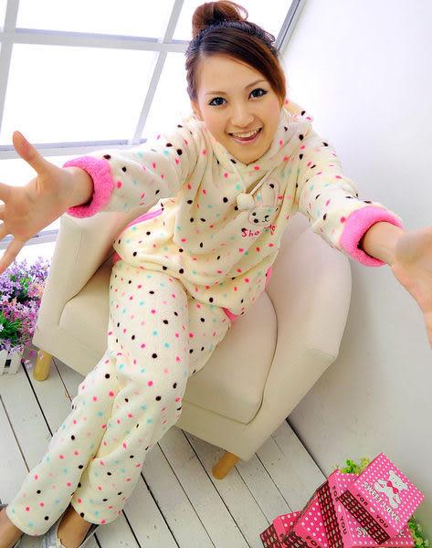 【Sexy cat】甜心派對 可愛二件式睡衣/睡袍/居家服