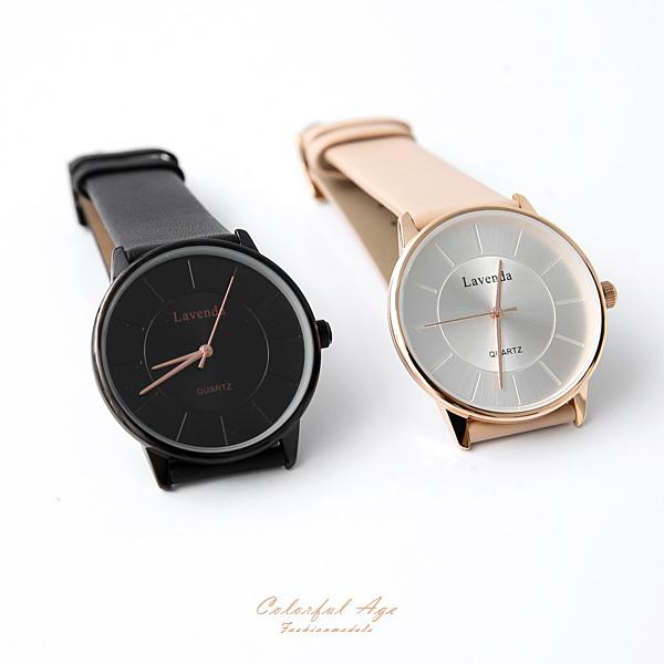 手錶 正韓LAVENDA隱藏刻度 柒彩年代【NEK41】單支