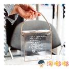 透明雪花酥包裝盒牛軋糖餅干烘焙盒子糖果曲奇手提袋禮盒【淘嘟嘟】