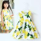 夏日《清新小檸檬》甜美小洋裝