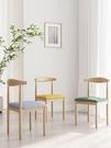 餐椅 椅子靠背北歐簡約現代凳子書桌用學生...