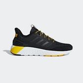 ADIDAS QUESTARSTRIKE [G25770] 男鞋 運動 慢跑 休閒 緩震 舒適 健身 輕量 愛迪達 黑黃