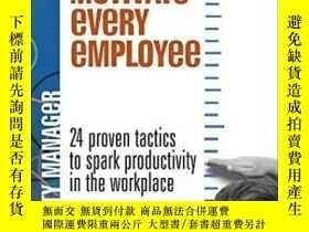 二手書博民逛書店How罕見To Motivate Every Employee: