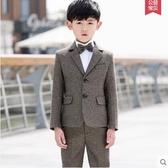 兒童西裝 男童小西服春花童禮服男 童裝西裝寶寶西服外套中大童