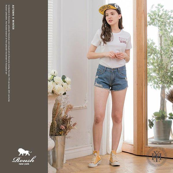 【Roush】女生San Diego美式潮流短TEE - 【712178】