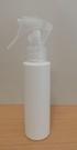 YT店【HDPE塑膠容器】100cc+噴槍/ 噴瓶 噴霧瓶 分裝瓶【台灣製MIT】可用來裝酒精及次氯酸水