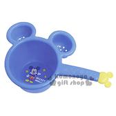 〔小禮堂〕迪士尼 米奇 日製兒童造型小水瓢《藍.大臉型.站姿.舉單手.星星.造型把手》4904121-35011
