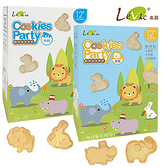 LeVic 樂扉 Cookies Party 動物造型餅乾 寶寶餅乾 嬰兒米餅 副食品 7977 好娃娃