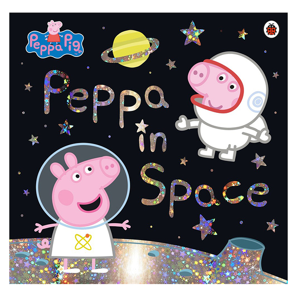 Peppa In Space佩佩豬宇宙外太空天文科學STEM英文繪本圖畫童書