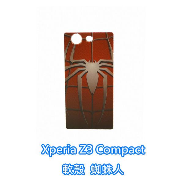 sony Xperia Z3 Compact D5833 Z3C M55W 手機殼 軟殼 保護套 蜘蛛人