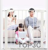 兒童安全門欄寶寶護欄樓梯口防護欄寵物狗柵欄門圍欄嬰兒隔離門igo「Top3c」