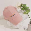 限量現貨◆PUFII-帽子 正韓彩虹字母配色棒球帽-0317 現+預 春【CP18166】