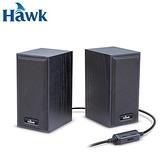 Hawk 二件式木質喇叭 黑色【原價 299 ▼現省$ 30】