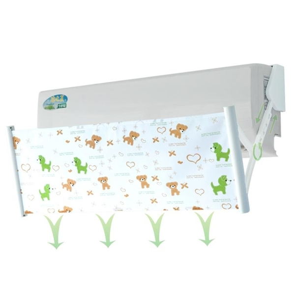 空調擋風板防風罩導遮風板出風口檔冷氣通用空調擋板防直吹YXS 韓小姐