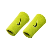 NIKE Swoosh 單色加長腕帶( 慢跑 路跑 籃球 網球 羽球 一雙入  ≡排汗專家≡