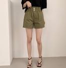 [預購+現貨]韓國-2釦鬆緊短褲(4色)-褲-74001680 -pipima-53