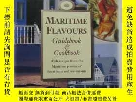 二手書博民逛書店MARITIME罕見FLAVOURS Guidebook Coo