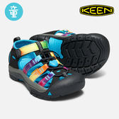 KEEN 小童款 織帶涼鞋Newport H2 1018447 / 城市綠洲 (KIDS、水陸兩用、織帶鞋面、戶外休閒、運動涼鞋)