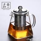 茶壺飄逸杯玻璃泡茶壺單人辦公室茶具沏茶杯茶水分離過濾沖茶器茶壺 雲朵