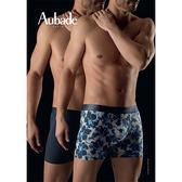 Aubade man-壞男人M-XL舒棉平口褲(扶桑花2件組)