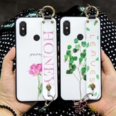 小米max2/max3手機殼簡約全包小清新斜挎背帶百搭【聚可愛】