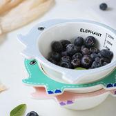 陶瓷碗兒童餐具可愛碗寶寶家用陶瓷餐具