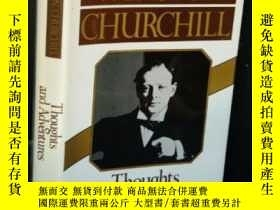 二手書博民逛書店Thoughts罕見And AdventuresY255562 Winston Churchill Norto