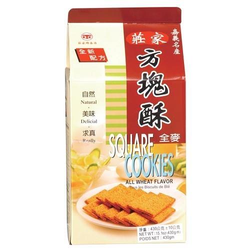 莊家全麥方塊酥380G【愛買】