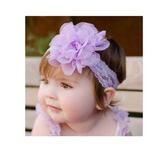 寶寶髮帶 baby雪紡材質純色百搭蝴蝶結女童 韓國嬰兒 寶寶頭飾 造型頭飾 88181