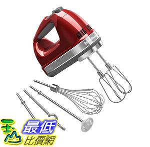 [8美國直購] KitchenAid KHM926CA 9段轉速 手提式攪拌機含配件 9-Speed Digital Hand Mixer Whisk_U32