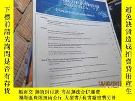 二手書博民逛書店journal罕見of business logistics v