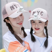 USB充電風扇帽男女兒童夏季 戶外多功能鴨舌遮陽帽子親子款太陽帽
