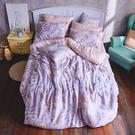 床包兩用被組 / 雙人加大【織夢國境】含兩件枕套 60支天絲 戀家小舖台灣製AAU315