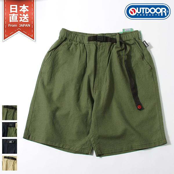【OUTDOOR PRODUCTS】棉麻涼感登山短褲