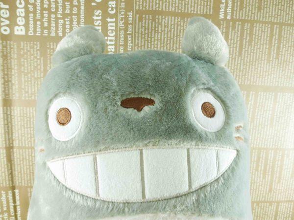 【震撼精品百貨】となりのトトロTotoro_龍貓/豆豆龍~造型抱枕-龍貓灰