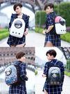 貓包寵物外出包貓籠子便攜艙包雙肩狗狗背包太空包書包裝貓咪用品 Korea時尚記