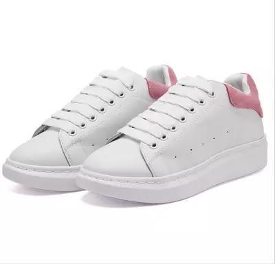 真皮厚底女鞋2016單鞋休閑鞋板鞋系帶白色運動鞋韓版