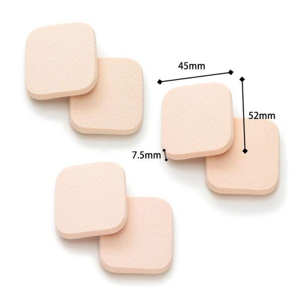 ROSY ROSA 柔彈系粉餅粉撲(長方形) 6入