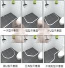 【麗室衛浴】硅橡膠材質門檻  可依現場需求適當調整轉角 自行裁剪便利 160CM/另有200CM