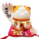 【金石工坊】大招財波士大手貓(高10CM)波士桃花貓 招財貓 陶瓷開運桌上擺飾 撲滿存錢筒
