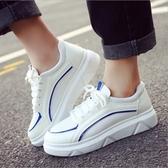 秋鞋女2019新款百搭韓版學生鞋子夏季增高小白鞋秋季厚底運動白鞋
