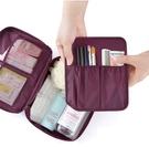 BACKBAGER背包族【 BACKBAGER 】旅行收納包/ 盥洗包 - 粉紅/紫紅/淺藍/灰/深藍色 共5色