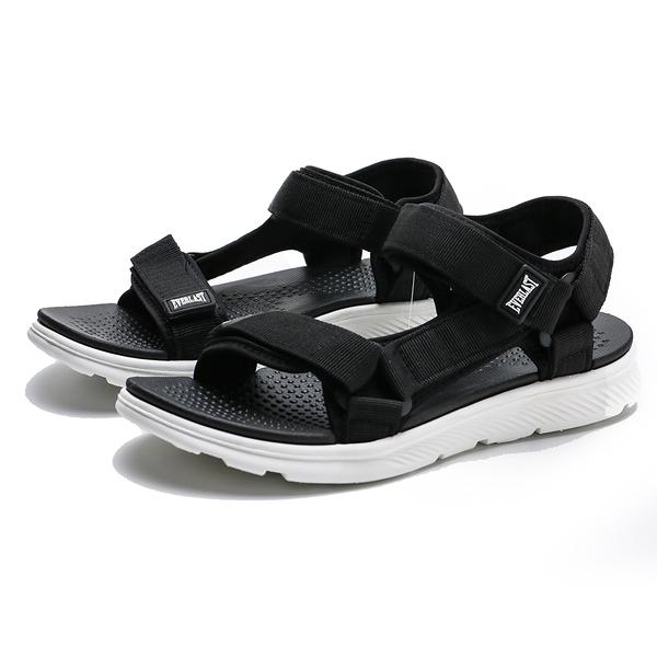 EVERLAST 涼鞋 黑 軟墊 黏帶 運動 運動拖 情侶 男女(布魯克林) 女4022230420 男 4021230420