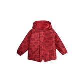 Gap男幼童 休閒連帽長袖外套 515344-摩登紅色