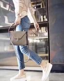 ■專櫃77折■ 全新真品■Valextra 義大利頂級品牌 Mini Iside 兩用包 Oyster 茶灰色