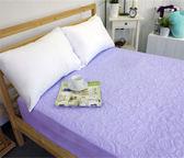 保潔墊 - 單人(單品)3色 [床包式 可機洗] 立體雕花 抗菌防霉 3層無毒貼合 寢國寢城台灣製